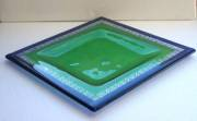 fused and slumped glass (270 sq mm)