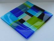 fused and slumped glass (300mm x 320mm)