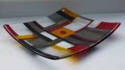 fused and slumped glass (280mmsq)