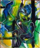 Acrylic on Canvas (600mm x 495mm)
