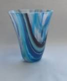 Fused and slumped glass (150mmH x 140mmW)