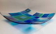 Fused and slumped glass (300mmsq)