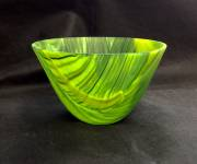 Fused and slumped glass (100mmH x 165mmW)